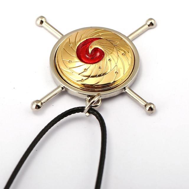 Naruto Kurama Logo Necklace