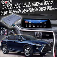 Android / carplay interface box for Lexus RX 2016-2019 12.3 video interface with remote touch control RX350 RX450h by lsailt
