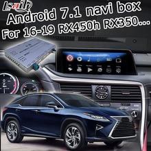 Caja de interfaz Android/carplay para Lexus RX 2016-2019 12,Three Interfaz de vídeo con regulate remoto táctil RX350 RX450h de lsailt
