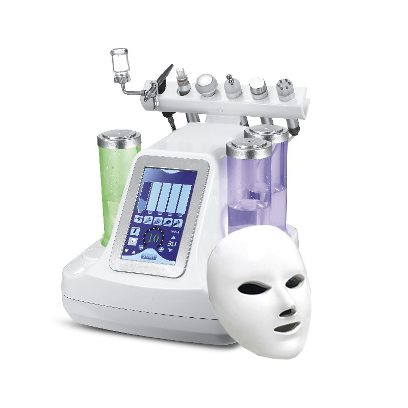 7 IN 1 Bio RF Cold Hammer Hydro Microdermabrasion Water Hydra Dermabrasion Spa Facial Skin Pore Cleaning Machine