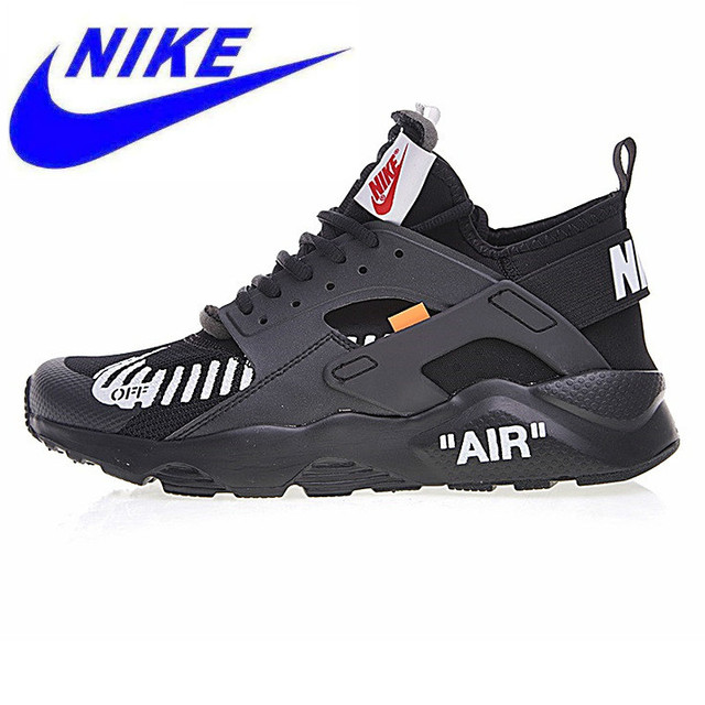 e7a414fd0f3a Original Nike Off-white MT for Air Huarache Men s Breathable Running Shoes  Male Sport Sneakers Shoes