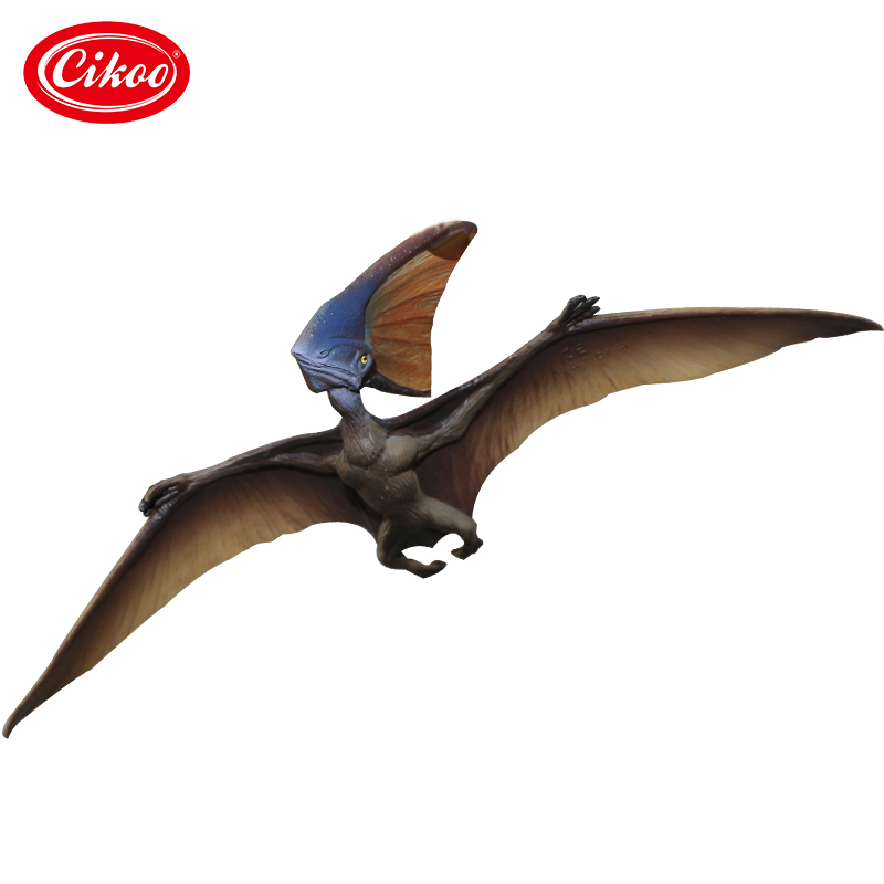 Jurassic Dinosaur Pterosaurs Animal Model Toy Action Figure Toys Collection Simulation Dinosaurs Gift For Kids bwl 01 tyrannosaurus dinosaur skeleton model excavation archaeology toy kit white