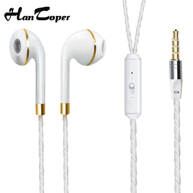 In-Ear Earphone For iPhone 6s 6 5 Xiaomi Hands free Headset Bass Earbuds Stereo Headphone For Apple Earpod Samsung earpiece