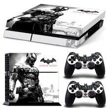 Batman Decal Skin Voor PS4 Console Cover Voor Playstaion 4 Vinyl Skin Controle Stickers + 2 Stuks Controller Beschermende Gamepad skins