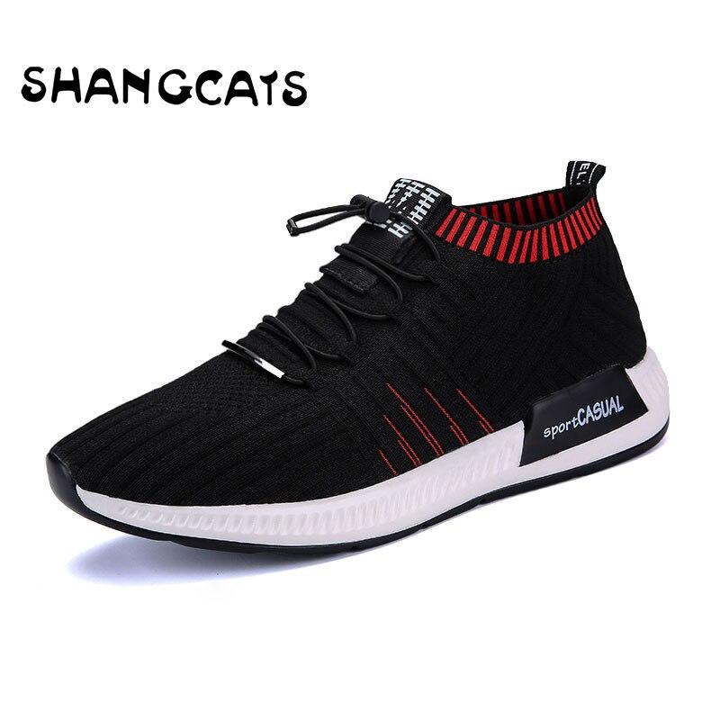 D'été Chaussettes léger Sneakers red Mocassins De Slip Tenis Chaussures Adulto Ultra Homme Masculino Respirant Hommes 2018 Black Sur Casual znvqdzU