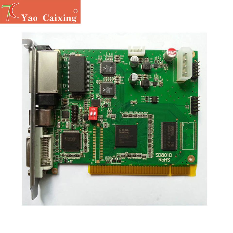 Linsn synchronrous sending card 802D controller for P1 2 P2 P2 5 P3 P3 91 P4