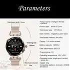 2019 neue Farbe Bildschirm Wasserdichte Uhr Frauen GPS Sport Smart Uhr Damen Top Marke Kleid Uhren Weibliche Herz Rate Überwachung - 6
