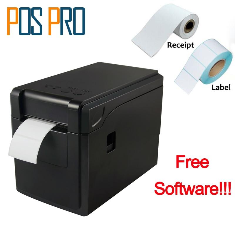 все цены на ITPP019 58mm 2 inch pos thermal receipt printer, barcode label printer, 130mm/s, USB+Serial Port, ESC/POS with free software онлайн