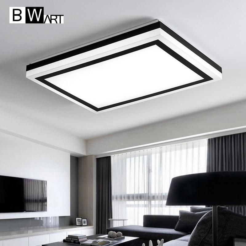 BWART Surface mounted modern led ceiling chandelier lights lamp for living study room bedroom led chandelier lamp fixtures