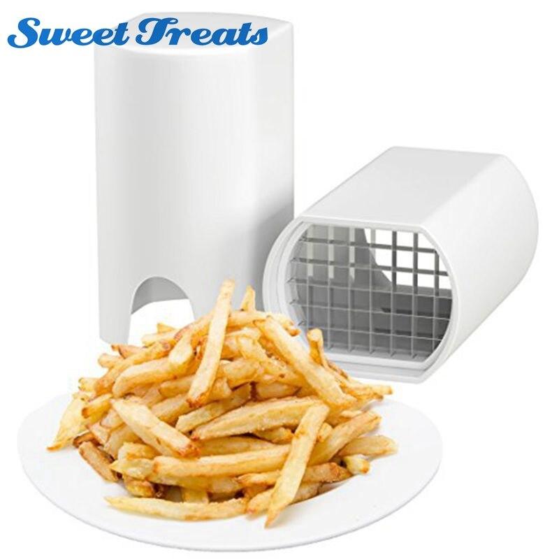 Sweettreats Einen Schritt Natürliche Französisch Braten Cutter Gemüse Obst Slicer Kartoffel-Perfekte frites