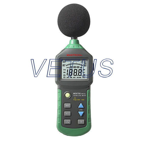 MS6700 Digital 30dB ~ 130dB Anolog bar indicator Sound Level Meter nokia 6700 classic illuvial