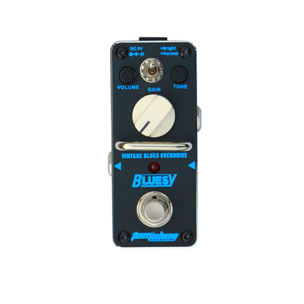 New AROMA ABY-3 BLUESY Vintage Overdrive for Blues Mini Analogue Effect True Bypass aroma aby 3 bluesy vintage overdrive for blues mini analogue effect true bypass guitar effect pedal
