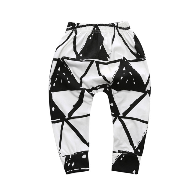 Baby Boys Trousers For Girls Hot Arrival Geometric Pattern PP Pants Newborn Toddler Harem Pants Fashionable Variety Of Pants 6
