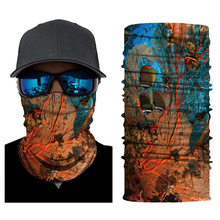 3D Animal Face Mask Bandana Shield Summer Balaclava Foulard Moto Half Mens Neck Gaiter Motorcycle Skull Ghost Fac