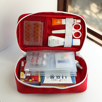 Portable Medium Empty Household Multi Layer First Aid Kit Outdoors Car Bag First Aid Bag Survival