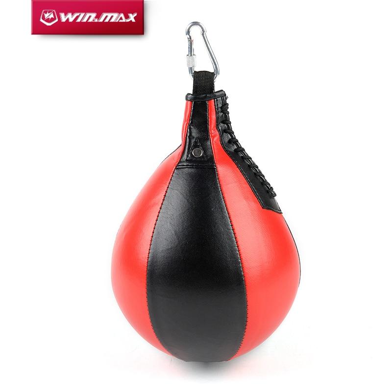 Winmax Boxing Pear Shape PU Speed Ball Swivel Punch Bag Punching Exercise Speedball Speed Bag Punch Fitness Training Ball