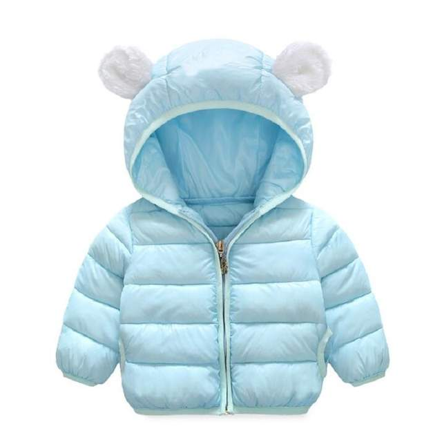 bd39b3bee6c61 1-5 Years Fashion Baby Boy jacket Thick Warm Winter baby Boy Girls winter  Coats