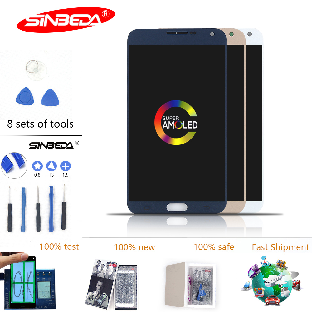 5.5Sinbeda Super Amoled LCD Tela For Samsung Galaxy E7 E7000 Display Touch Screen Digitizer Assembly Replacement 5.5Sinbeda Super Amoled LCD Tela For Samsung Galaxy E7 E7000 Display Touch Screen Digitizer Assembly Replacement