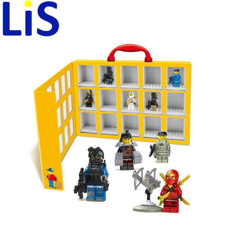 Lis 2017 new 79060 portable mini house display case for Cost of building blocks in jamaica 2017