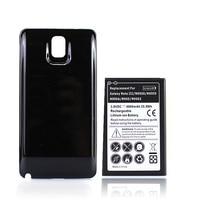 Batería de alta capacidad de 6800mAh para Samsung Galaxy Note 3, N9000, N9005, N900A, N9002, N900, con funda trasera