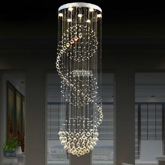 Modern Led Crystal Chandeliers Chandelier Lighting Crystal