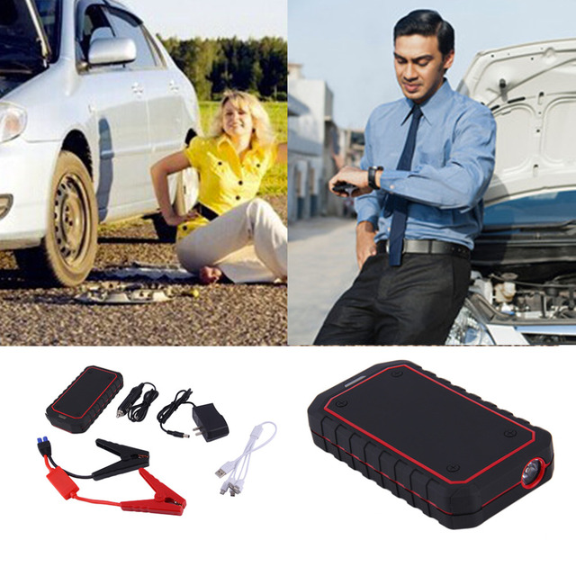 10000mAh Super Car Jump Starter Auto Engine Emergency Battery Source Laptop Portable Charger Mobile Phone Power Bank Charger
