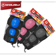 Skating Protective Gear Sets Elbow pads Skateboard Bicycle Ice Skating Roller Skate Knee Protector For Child Kids Free Shipping