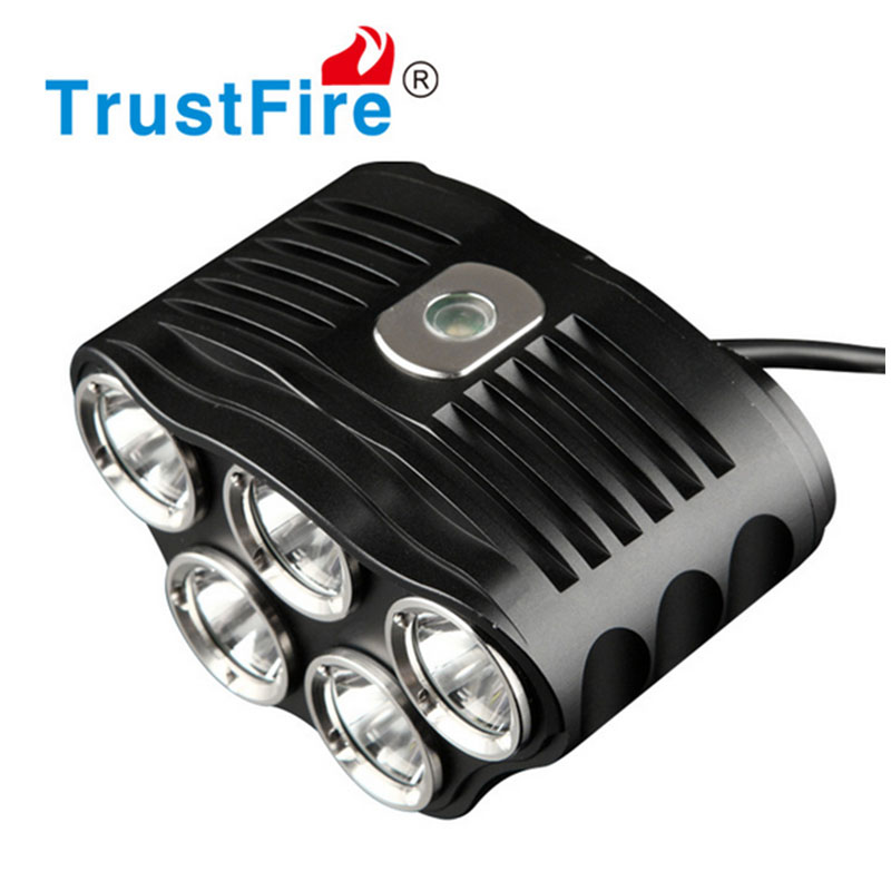 TrustFire TR-D010 Bike lights 2800 Lumens 5*CREE XML-T6 Lamp LED Bicycle Light With 6*18650 Battery pack sitemap 6 xml