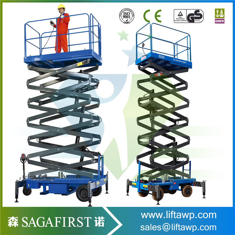 Full Electric Hydraulic Scissor Lift Table electric table truck platform