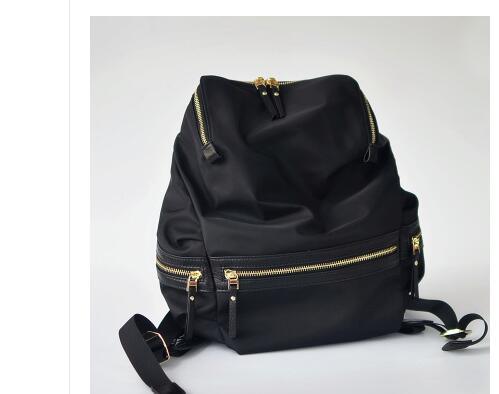 Custom-made 2018 new double shoulder bag, Korean version, simple travel bag, large capacity nylon cloth backpackCustom-made 2018 new double shoulder bag, Korean version, simple travel bag, large capacity nylon cloth backpack