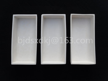 120*60*20mm / 99.3% alumina crucible / Boat / corundum crucible / Al2O3 ceramic crucible / Sintered crucible фото