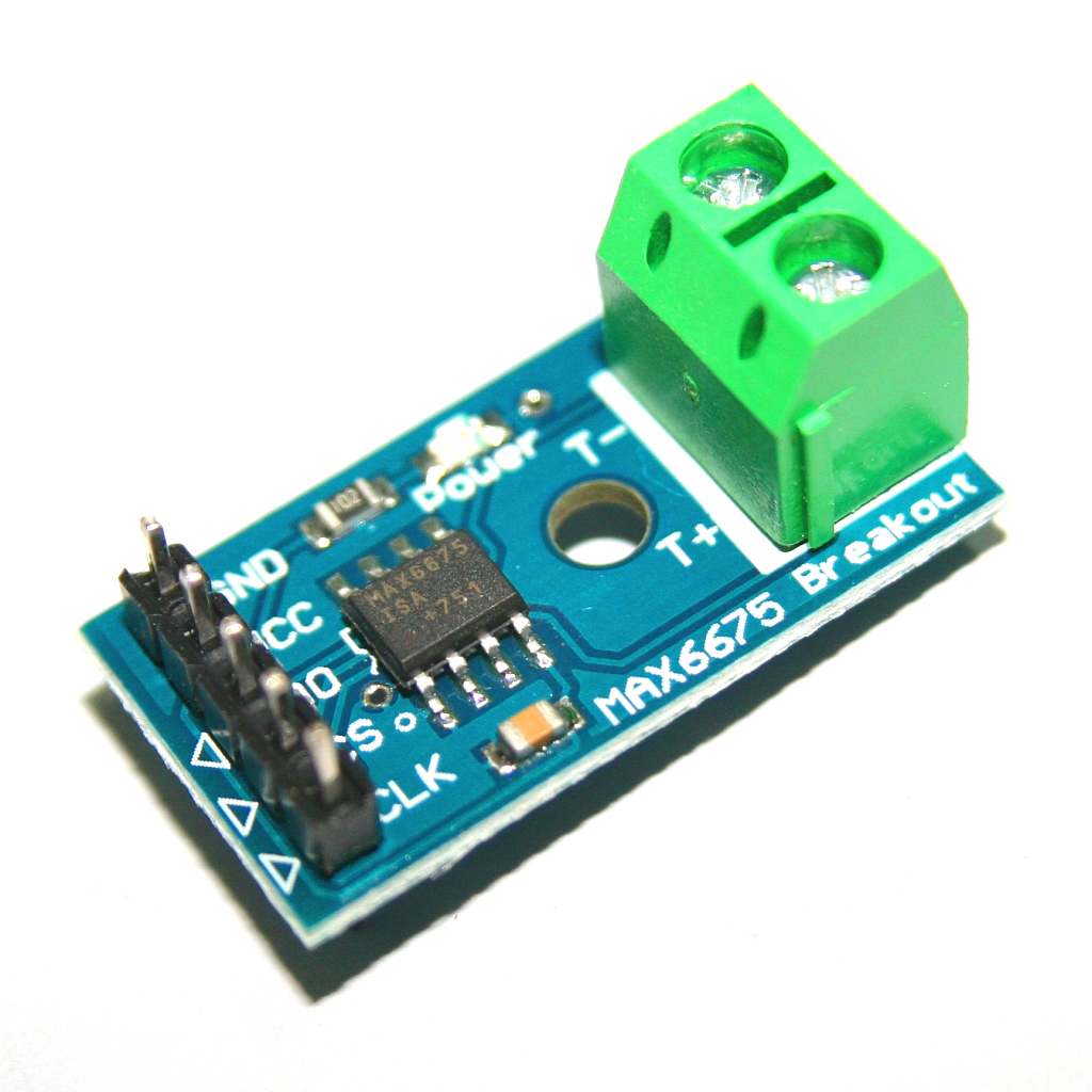 US $1 36 |MAX6675 K Type Thermocouple Temperature Sensor Converter Board  For Arduino SPI Interface Module For Arduino 50mA Terminal DIY-in  Integrated