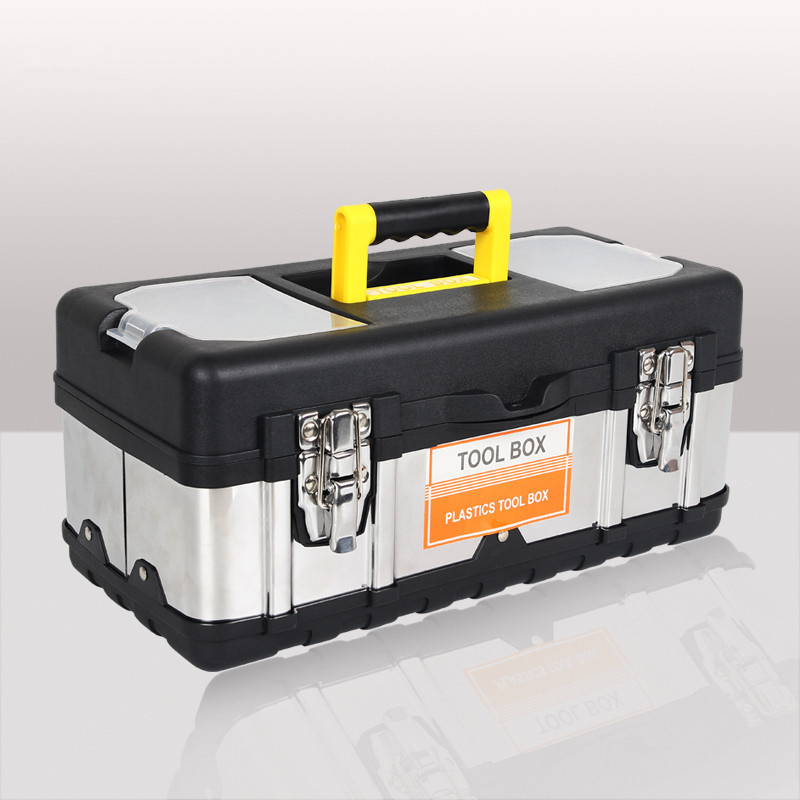 Portable Toolbox Car Tools Storage Box High Quality Large Capacity Power Tool Storage Containers