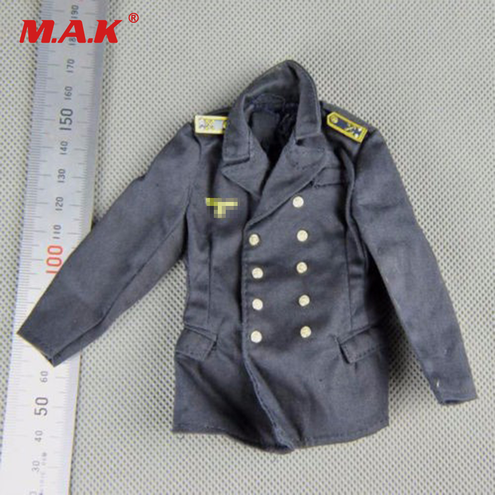 1:6 Dragon DML WWII German Blue Navy Soldier Uniform Jacket Canvas Clothes for 12 inches Male Action Figure Toys ba904 academy wwii german artwox battleship bismarck wood deck aw10047