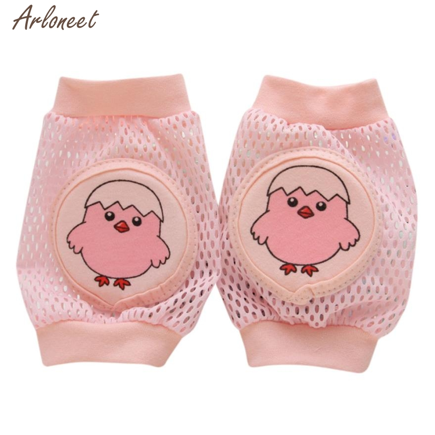 2017 Cartoon Baby Safety Crawling Elbow Cushion Toddlers Knee Pads Protective Gear Aug 15 Fantasy