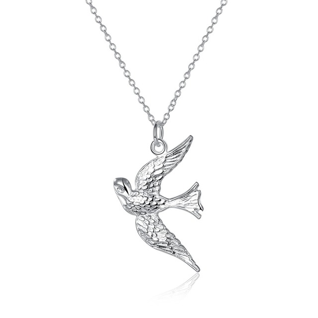Beautiful freedom peace pigeon pendent necklace 18inch rolo chain beautiful freedom peace pigeon pendent necklace 18inch rolo chain animal bird pendant necklace bohemian silvery jewelry mozeypictures Image collections