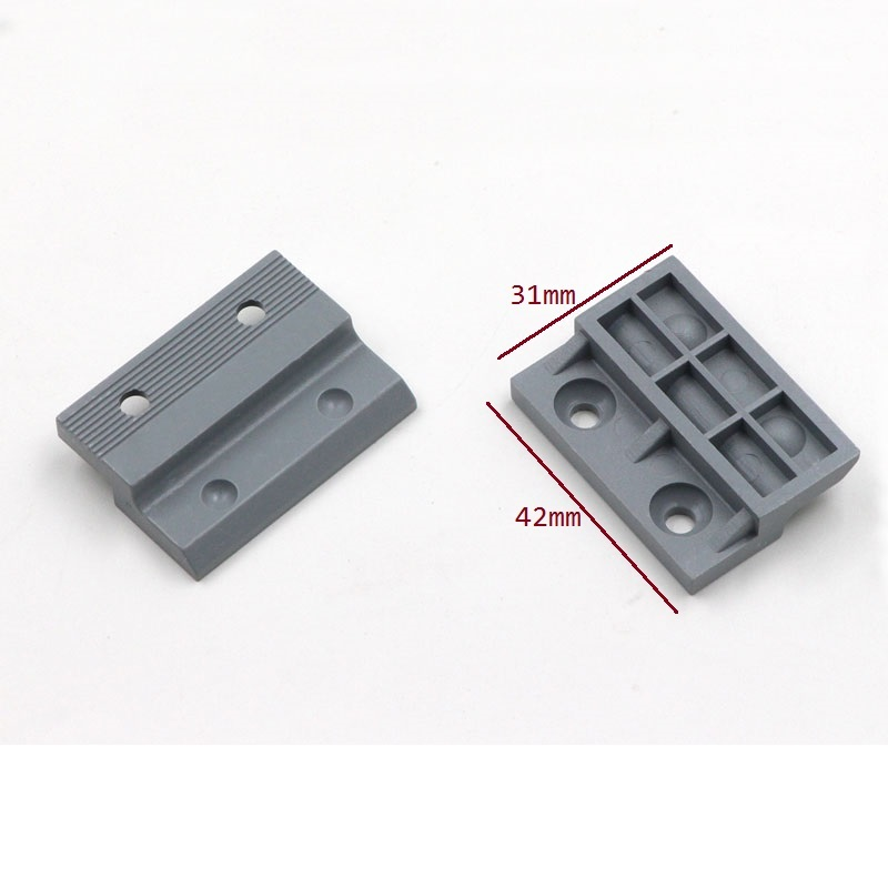 Lage Prijs 20 Pcs Decoratieve Muur Panel Push Klik Op Quick Fitting Keukenkast Nep Lade Crown Molding Filler Z Clip