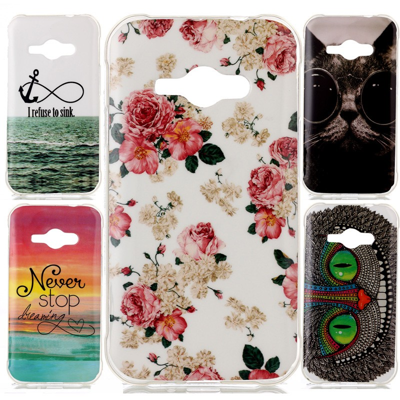 Coque For Samsung J1 Ace Soft Tpu Phone Cases Capinha Cute Cat Beer Flower Owl Eyes For Samsung Galaxy J1 Ace J110m J110f Case For Samsung Galaxy Phone Casescoque J1 Aliexpress