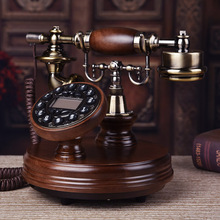 Good art RETRO European household telephone landline telephone antique phone Apple Blue retro telephone voip phone sip intercom for office business ip phone voip telephone portable