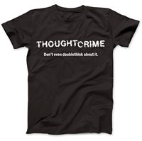 1984 Thought Crime George Orwell T Shirt 100% Premium Cotton Animal Farm2019 fashionable Brand 100%cotton Printed Round Neck T s
