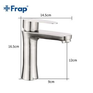 Image 4 - Frap смеситель из нержавеющей стали 304, смеситель для раковины Torneiras Monocomando Vanity смеситель для горячей и холодной воды смесители для ванной комнаты F1048