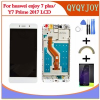 LCD DIsplay Touch Screen Digitizer Assembly For Huawei Y7 Prime 2017 TRT TL00 Nova Lite TRT