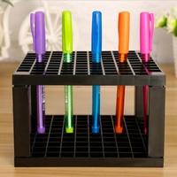 Pen Holders 96 Holes Pen Rack Display Stand Support Holder Painting Brush Pen Holder For