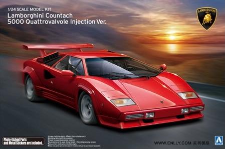 Countach 5000 Quattrovalvole 1/24 araba modeli 01155Countach 5000 Quattrovalvole 1/24 araba modeli 01155
