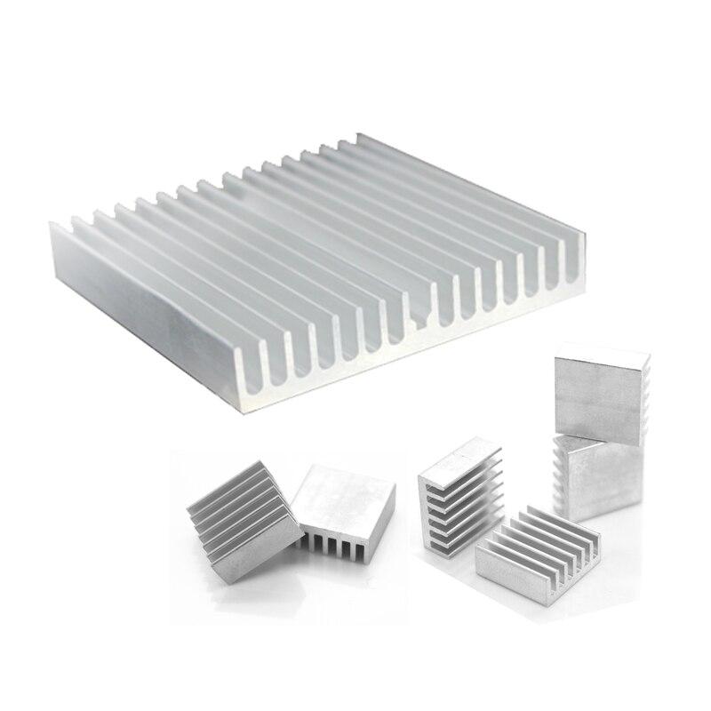 1Set/7pcs Aluminum Heat Sink Radiator Heatsink  Cooler Kit for HDD Hard Disk Drive Heat Dissipation 2 x b ddr ddr2 ram memory cooler heat spreader heatsink z09 drop ship