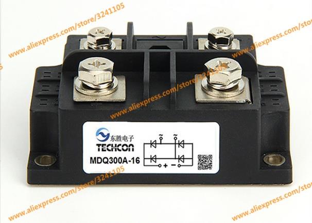 Free shipping NEW MDQ300A-16 300A 1600V MODULE ordinary rectifier module md 200a 1600v 250a 1600v 300a 1600v 350a1600v 400a1600v 500a 1600v