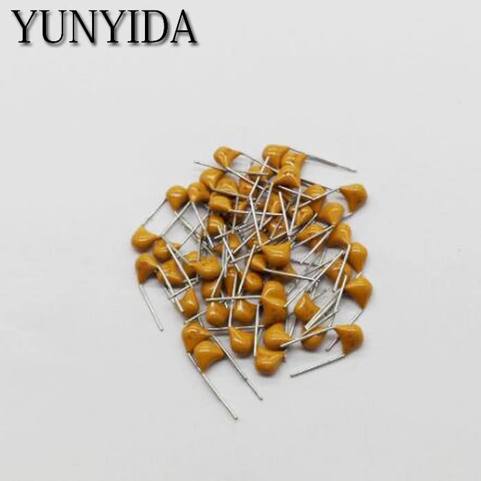 100PCS  Monolithic Ceramic Capacitor  100NF  0.1UF  104K 50V  10%  5.08MM
