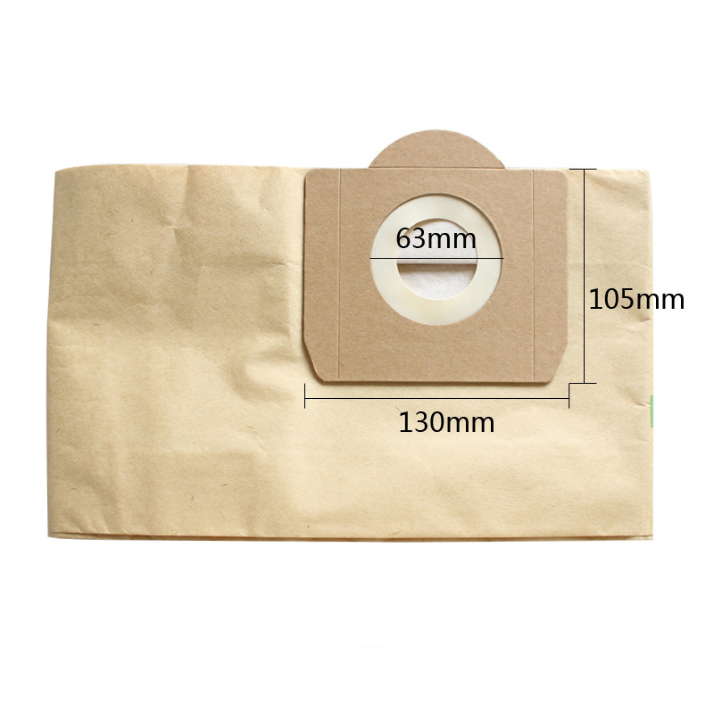 Image 2 - 10PCS Dust Bags Filter for Karcher MV3 WD3 WD3200 WD3300 A2204 A2656 Vacuum Cleaner Paper Bags For Rowenta RB88 RU100 RU101-in Vacuum Cleaner Parts from Home Appliances
