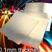 0,1 мм толщина 100x100 мм 200x200 мм C17200 BeCu лист HRC45 бериллиевый медный ремень износостойкая Бериллиевая бронзовая фольга QBe2
