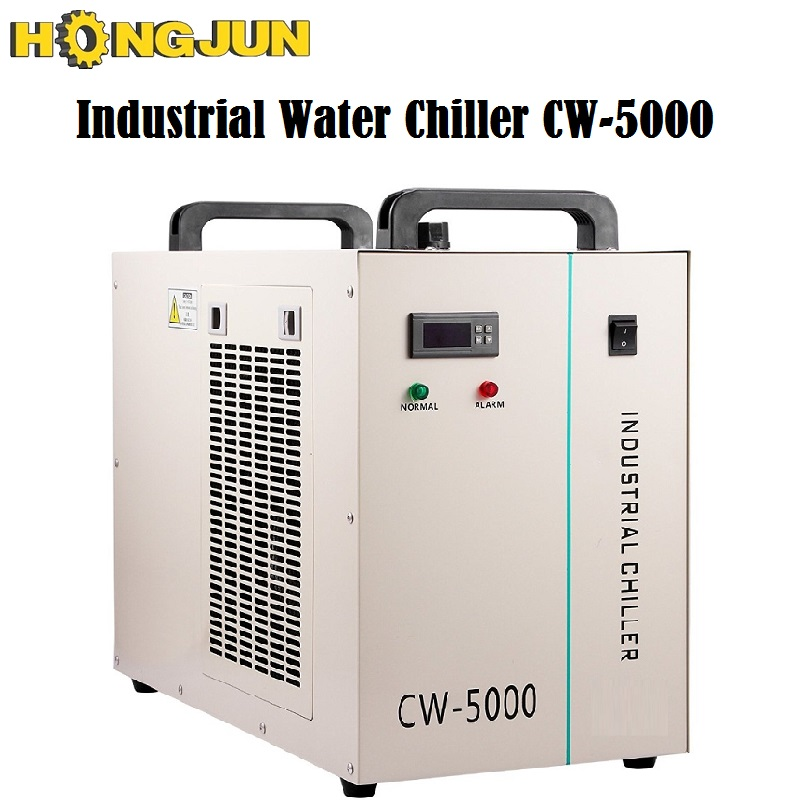 HONGJUN Industrial Water <font><b>Chiller</b></font> for CNC Laser Cutting Engraving Machines Rabbit <font><b>CW</b></font>-<font><b>5000</b></font> image
